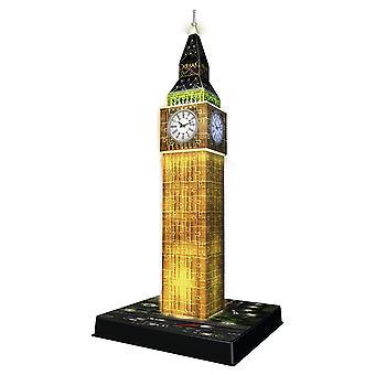 Ravensburger Big Ben Night Edition, 216pc 3D skládačka
