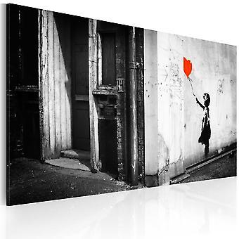 Wandbild - Mädchen mit Balloon (Banksy)