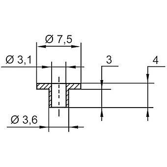 Insulating washer ASSMANN WSW V5816 Outside diameter 7.5 mm SR25