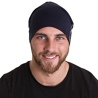 Regard extérieur Mens Dornie Beanie chapeau tricoté Ski crâne chaud