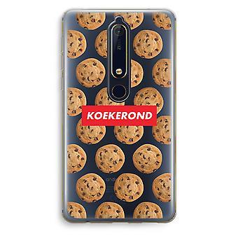 Nokia 6 (2018) gennemsigtig sag (Soft) - Koekerond