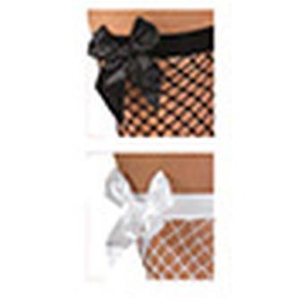 Fishnet stockings black overknee accessory Carnival Mardi