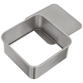 Judge Bakeware, Square Cake Tin, Loose Base, 20 X 20 X 7cm, (7� X 7� X 2�inch)