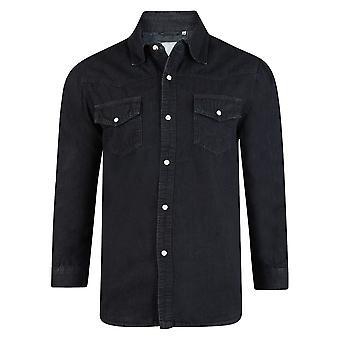 Kam Long Sleeve Denim Shirt