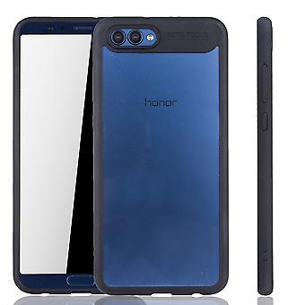 Ultra slim sak for Huawei honor vise 10 beskyttende coveret svart