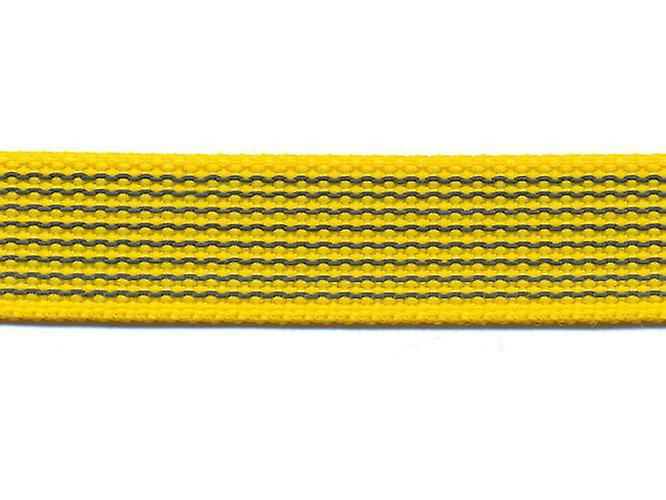 K9-Sport Super-Grip leash with handle, yellow