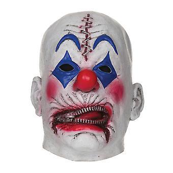 Maschera da Clown della chiusura lampo