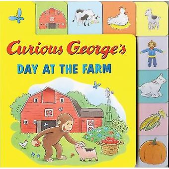 Curious George's Day at the Farm (Tabbed Lift-the-Flap) by H. A. Rey