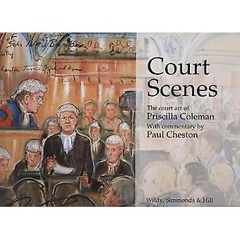 Court Scenes - The Court Art of Priscilla Coleman by Priscilla Coleman