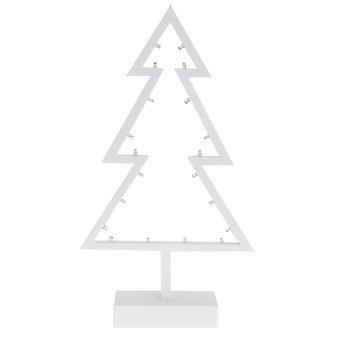 CGB Lahjatavarat valkoinen LED-valo puu koriste