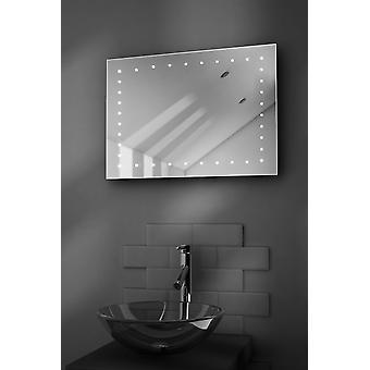 Clara golarka LED łazienka Mirror z kropli Pad & czujnik k165