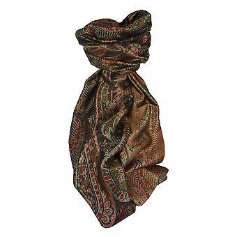 Jamawar Premium Silk stal patroon 2539 door Pashmina & Silk