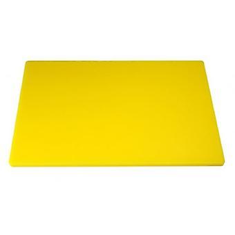 Heavy Duty grande planche à découper jaune 45X30Cm