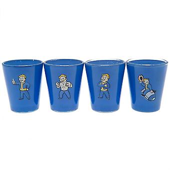 Fallout Premium Shot Glass Set (Pack Of 4)