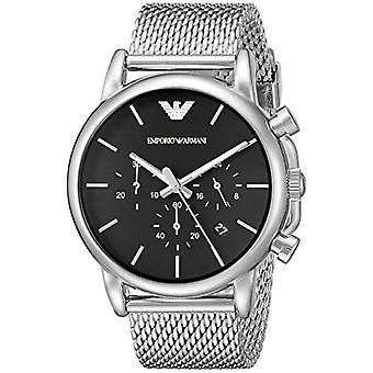 Emporio Armani Uhr Herren Quarz Armbanduhr Silikon AR1811