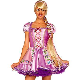 Rapunzel blondi peruukki aikuisille