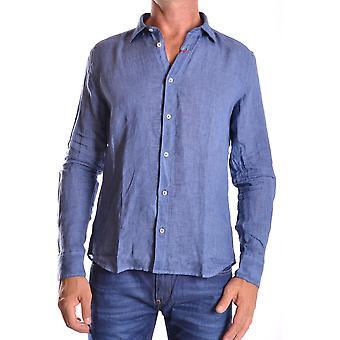 Altea Ezbc048010 Männer's blaues Leinen Shirt