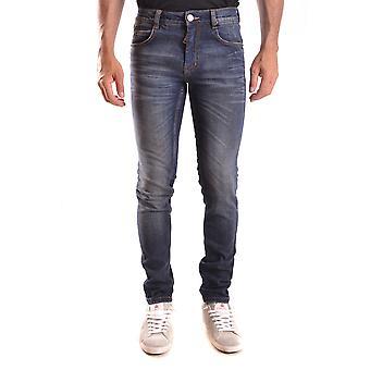 Frankie Morello Ezbc167014 Men's Blue Denim Jeans