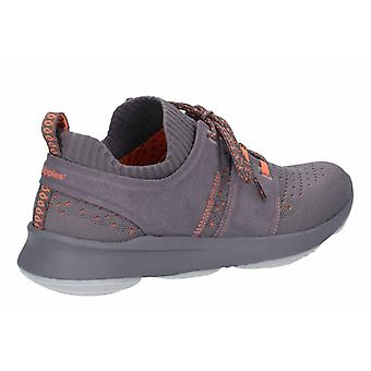 Hush Puppies Mens World Lace Up Trainers