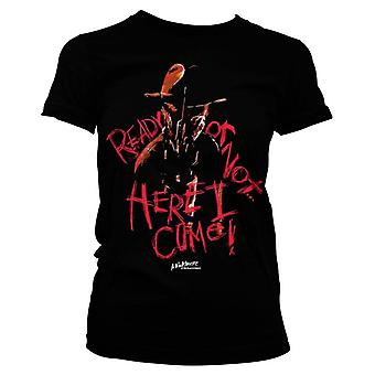 Women's A Nightmare On Elm Street 'Here I Come!' T-Shirt