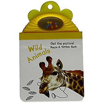 Baby Rattle Photo Book - Wild animals by Yoyo Books - 9789463600514 Bo