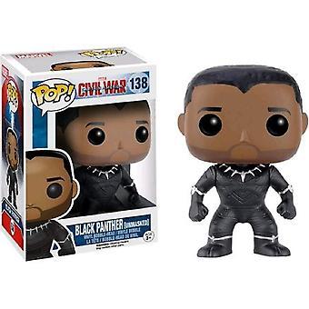 Funko burgeroorlog Black Panther Ltd editie pop! Vinyl figuur speelgoed