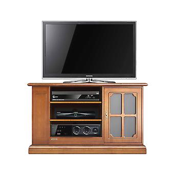 Functional TV-style cabinet with showcase door