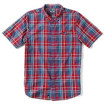 Lrg Ivy Lords Plaid Short Sleeve Shirt Chilli Pepper