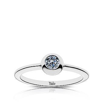 Yale University Sapphire ring i Sterling Silver design av BIXLER