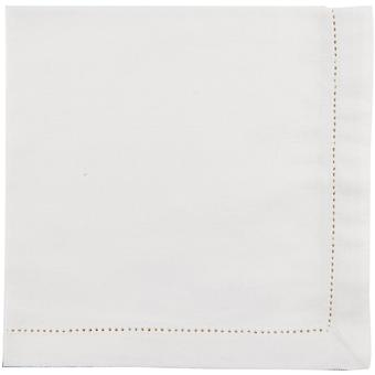 Now Designs Hemstitch Single Napkin Ivory, 51cm x 51cm