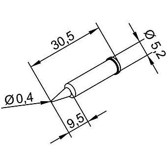 Ersa 102 PD LF 04 Soldering tip Pencil-shaped, ERSADUR Tip size 0.4 mm Content 1 pc(s)
