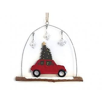 Shoeless Joe Christmas Car Decorations | Gifts From Handpicked