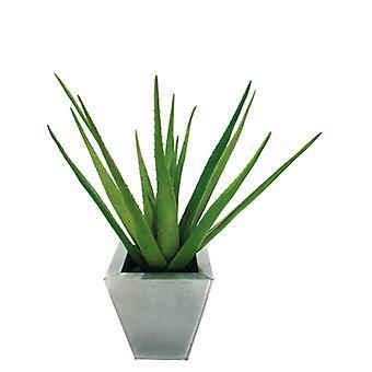 Artificial Silk Aloe Plant