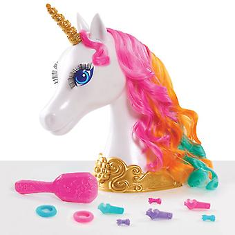 Barbie Dreamtopia Unicorn styling hoved