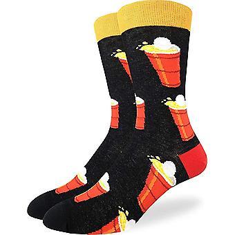Socks - Good Luck Sock - Men's Crew Socks  - Beer Pong (7-12) 1421