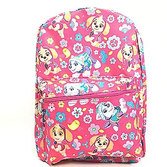 Backpack - Pattuglia Paw - Skye e Everest Pink 16