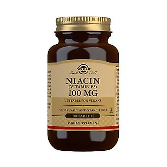 Solgar Niacin 100mg Tabletten 100 (1860)