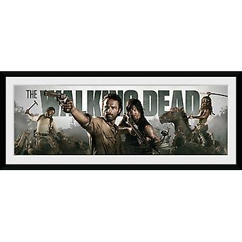 De Walking Dead Survival ingelijst Collector Print 75x30cm