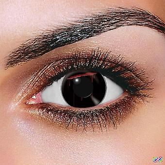 Black Slash Contact Lenses (Pair)