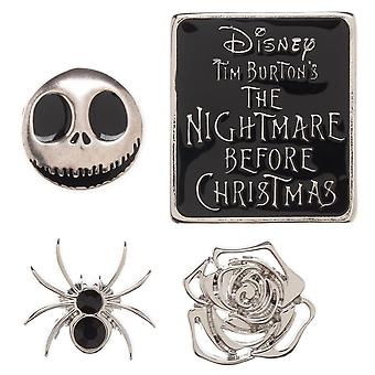 Pin set-Nightmare before Christmas-revers nieuwe lp74yfnbc