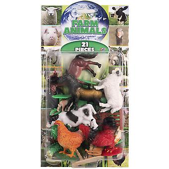 Natural World 21st Farmhouse Animal Figurines Lekset 5-12cm
