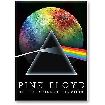 Pink Floyd mörka sidan av månen Rainbow Moon kylskåps magnet (Nm)