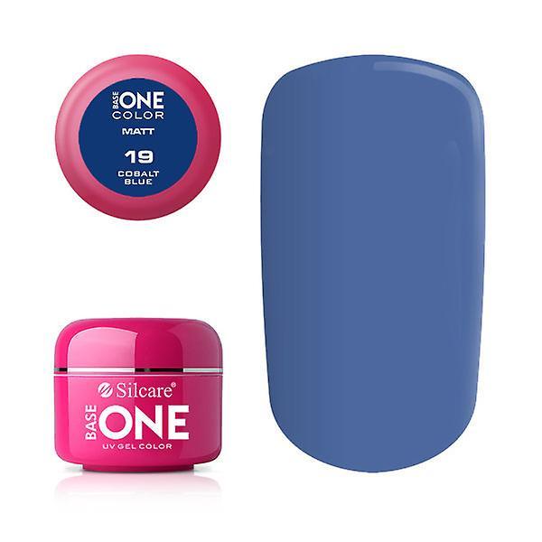 Base en-Matt-kobolt blå 5G UV gel