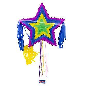 Pinata Star Mexico Party Candy esconder fora do partido jogo de aniversário das crianças