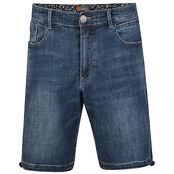 Kam Jeanswear Mens Lorenzo 2 Denim Shorts