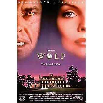 Wolf (video) original video/DVD annons affisch