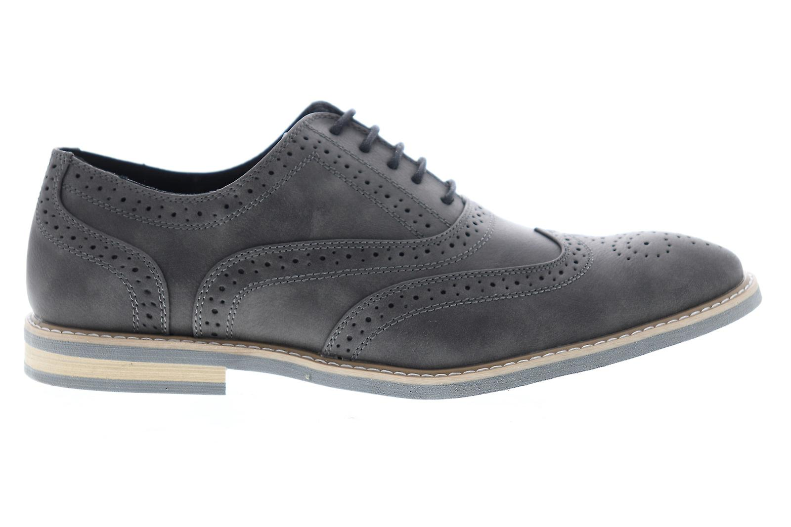 Unlisted par Kenneth Cole Joss Oxford Mens Gray Casual Lace Up Oxfords Chaussures