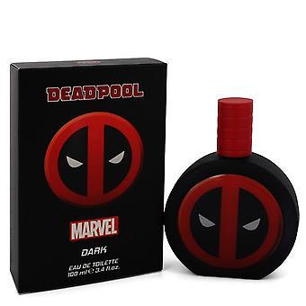 Deadpool dark eau de toilette spray by marvel 547937 100 ml