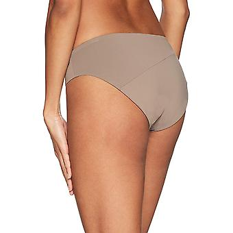 Volcom Junior's Simply Seamless Modest Bikini Bottom, Stone, XS