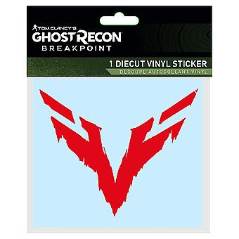 Sticker-Ghost Recon-wolven Sigil decal logo j10430